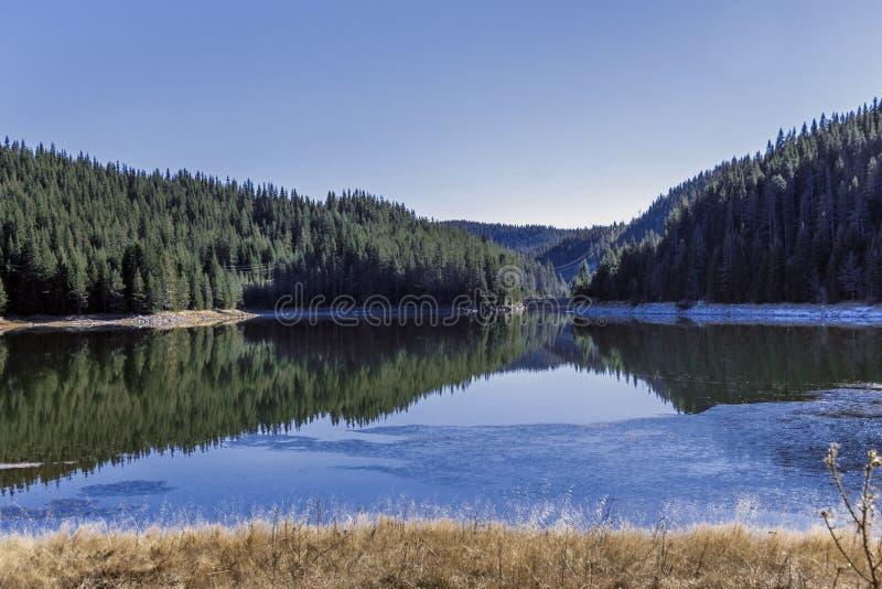 Beglika水坝,保加利亚 免版税图库摄影
