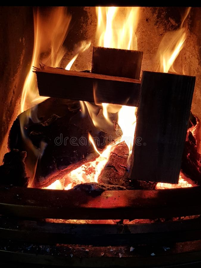 Begräbnis heiß lizenzfreies stockfoto