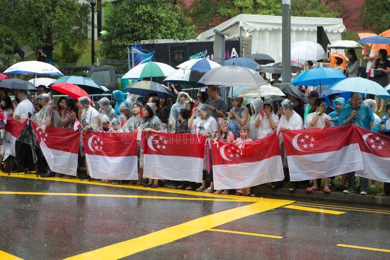 Begräbnis von Lee Kuan Yew, Singapur lizenzfreies stockfoto