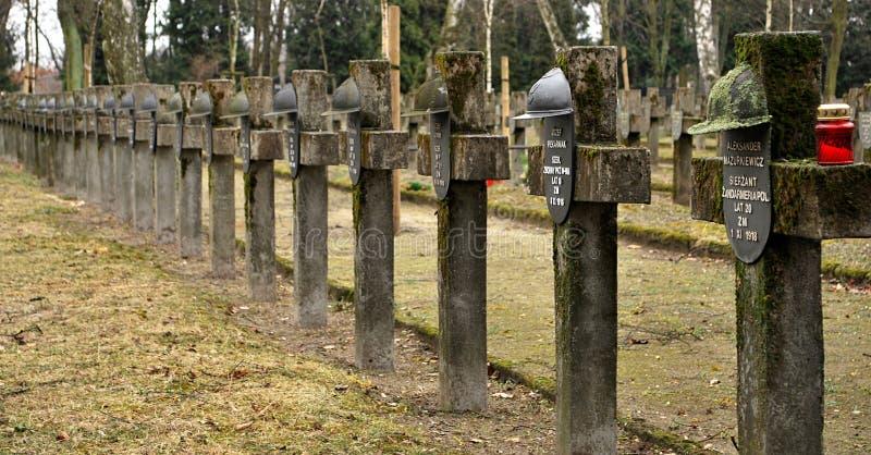 Begraafplaats stock fotografie