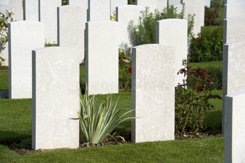 Begraafplaats royalty-vrije stock afbeelding
