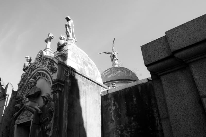 Begraafplaats I van La Recoleta royalty-vrije stock fotografie