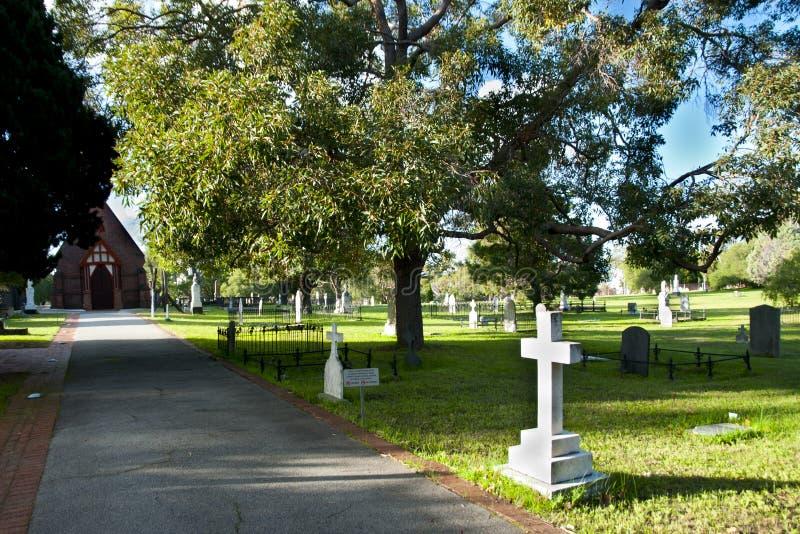 Begraafplaatsen de Oost- van Perth stock foto's