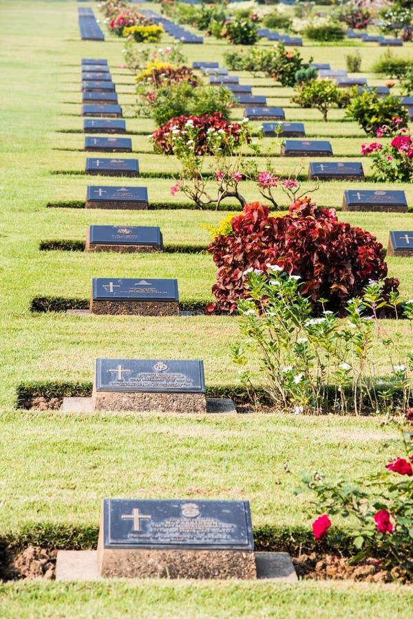Begraafplaatswereldoorlog ii royalty-vrije stock foto