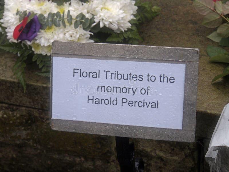 Begravnings- krans arkivfoton