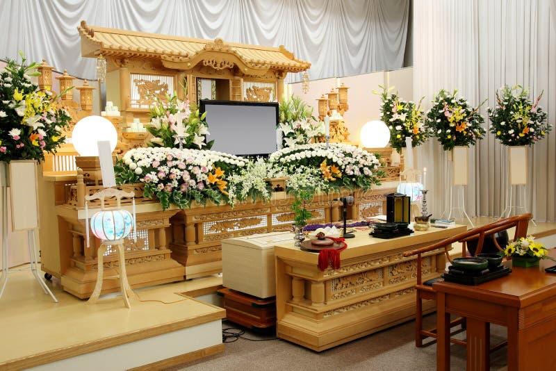 Begravningsbyrå fotografering för bildbyråer