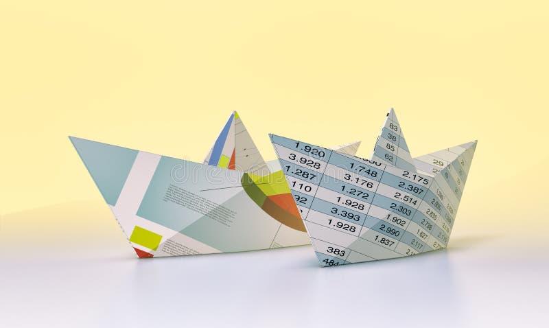 Begrepp av affären och finans vektor illustrationer