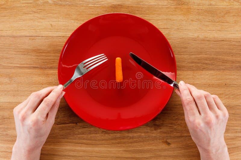 Begrepp av att banta, sunt äta royaltyfria foton