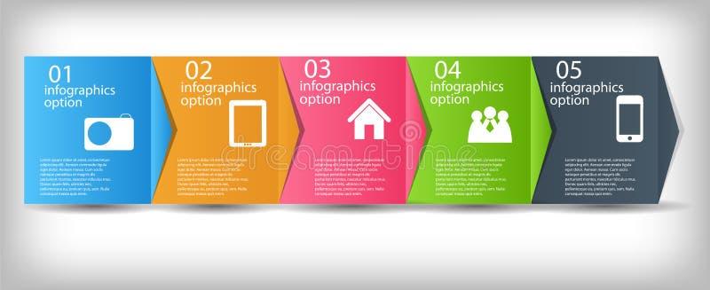 Begrepp av diagrammet för affärsprocessförbättringar. stock illustrationer