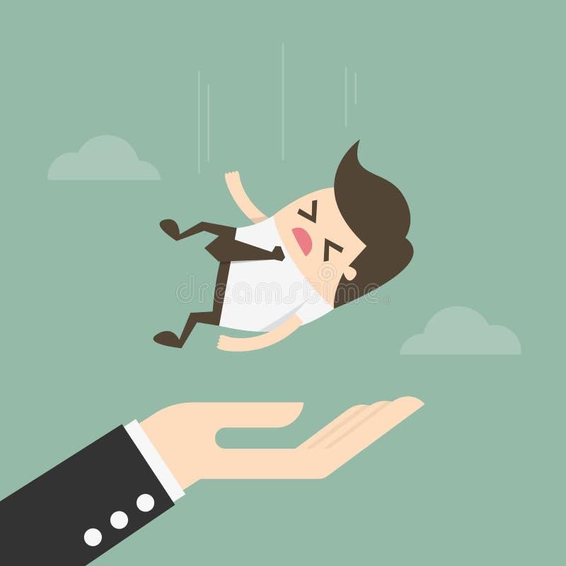 Begrepp av försäkring idébilden för begreppet 3d framförde stock illustrationer