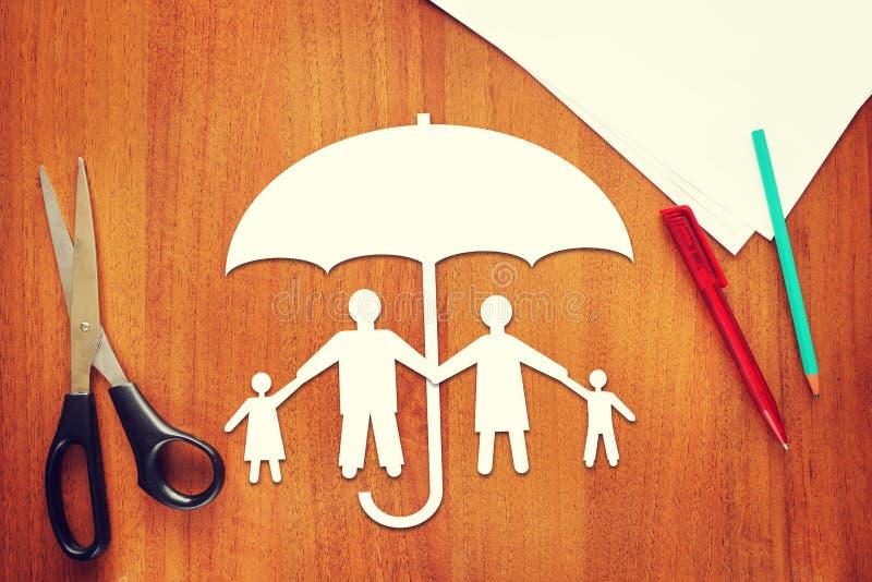 Begrepp av livförsäkring royaltyfria foton