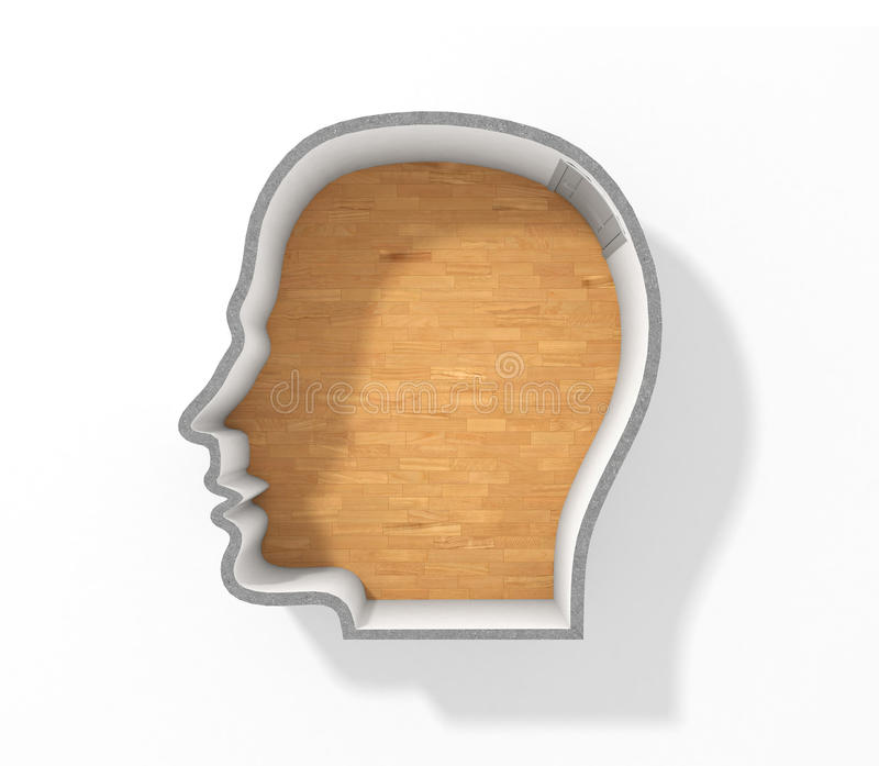 begrepp av psykologi arkivfoto