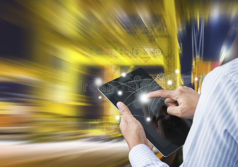 Begrepp av snabb eller ögonblicklig sändnings arkivbild