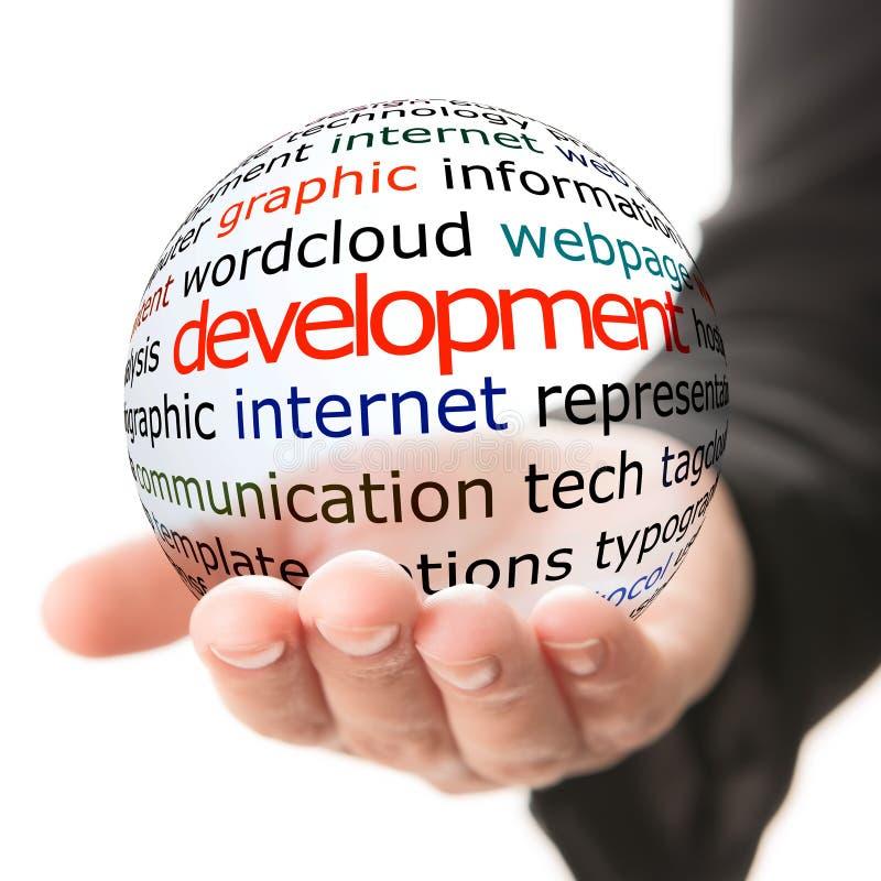 Begrepp av social utveckling arkivfoton