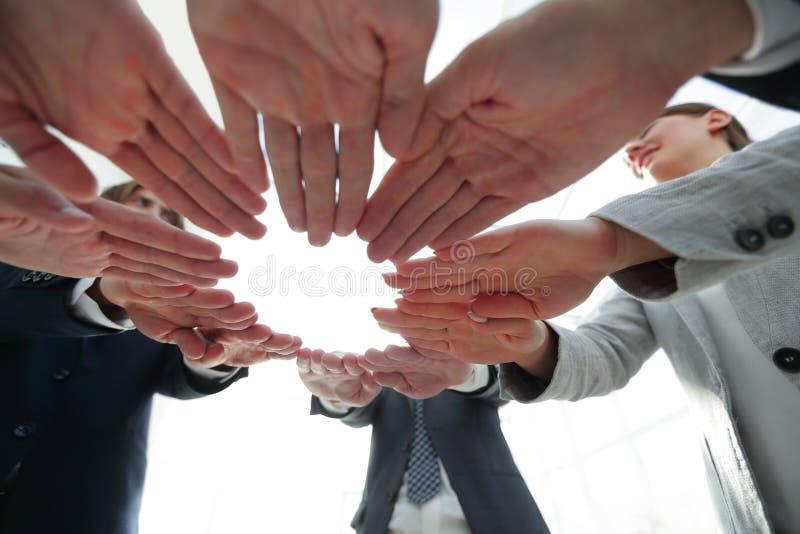 Begrepp av teamwork och enhet fotografering för bildbyråer