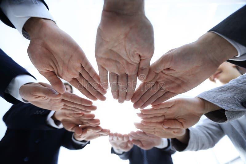 Begrepp av teamwork och enhet royaltyfri foto