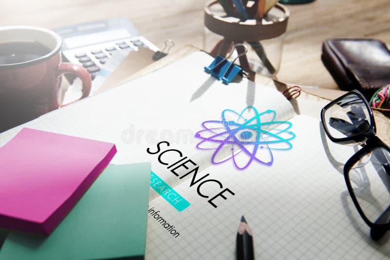 Begrepp för ämne för innovation för vetenskapsutbildning experimentellt arkivbilder