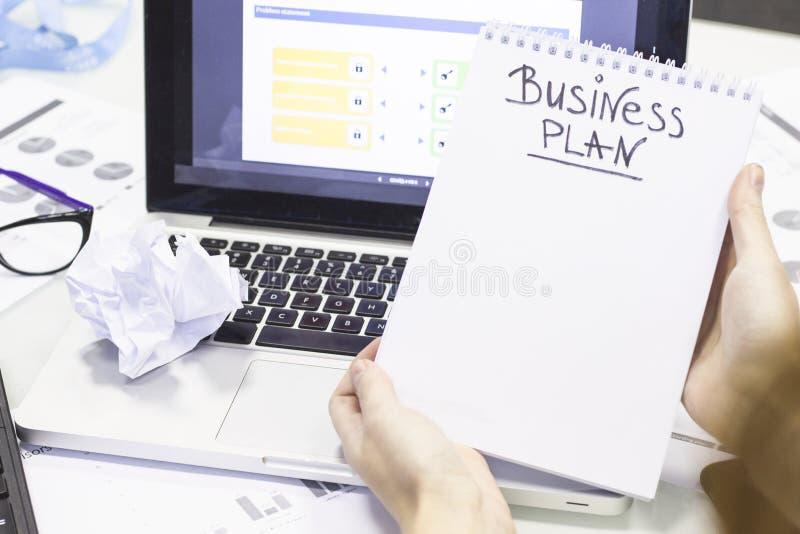 Begrepp för affärskontorsarbete arkivbild