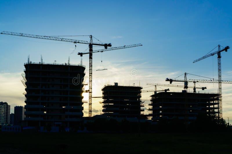 begrepp för arkitekt för konstruktionsplats fotografering för bildbyråer