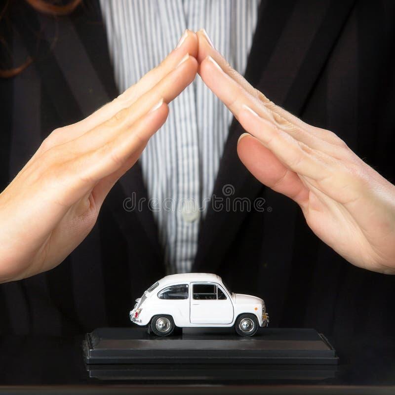 Begrepp för avsägelse för skada för bilförsäkring och sammanstötnings royaltyfria foton