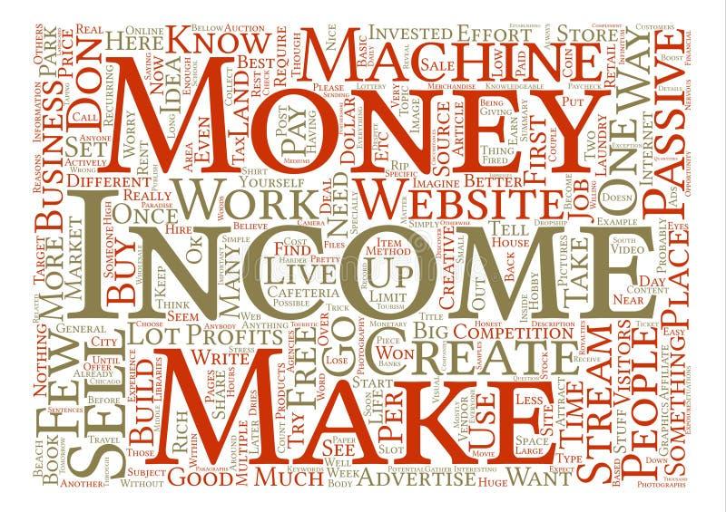 Begrepp för bakgrund för ordmolntext stock illustrationer