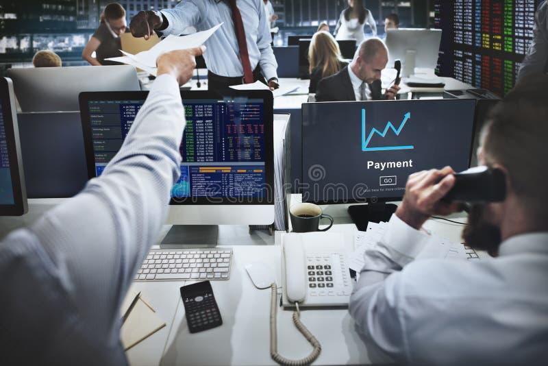 Begrepp för bankrörelsen för finans för betalningansvarspengar royaltyfria foton