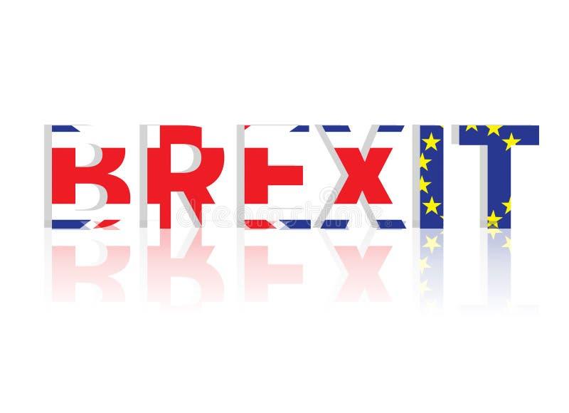Begrepp för Brexit UK EU-folkomröstning fotografering för bildbyråer