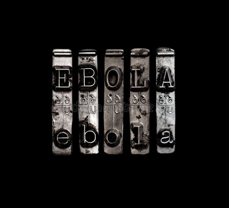 Begrepp för Ebola virus arkivbilder