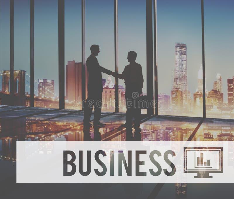 Begrepp för företag för ledning för affärsorganisation företags royaltyfria bilder