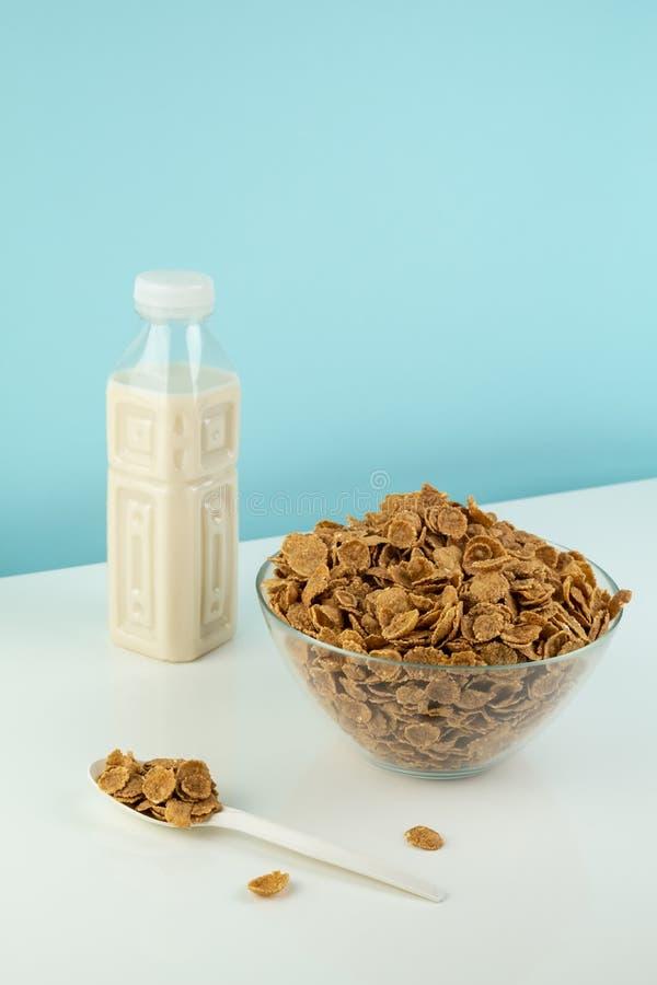 Begrepp för Helathy vegetariskt frukostmål royaltyfri fotografi