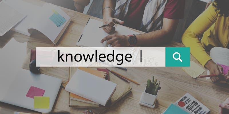 Begrepp för inblick för karriär för kunskapsmaktutbildning royaltyfri foto