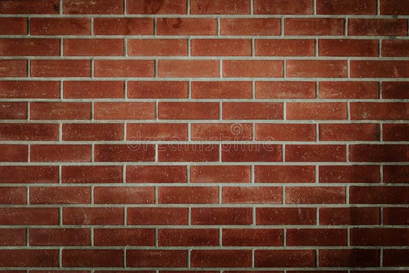 Begrepp för industriell stil för tappning för backgrund för vägg för röd tegelsten inomhus royaltyfri bild
