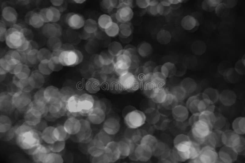 Begrepp för jultapetgarneringar Defocused och abstrakt färgglad bokeh royaltyfri foto