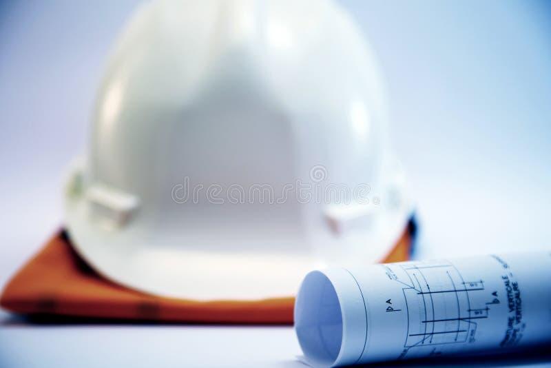 Begrepp för konstruktionsprojekt royaltyfri bild