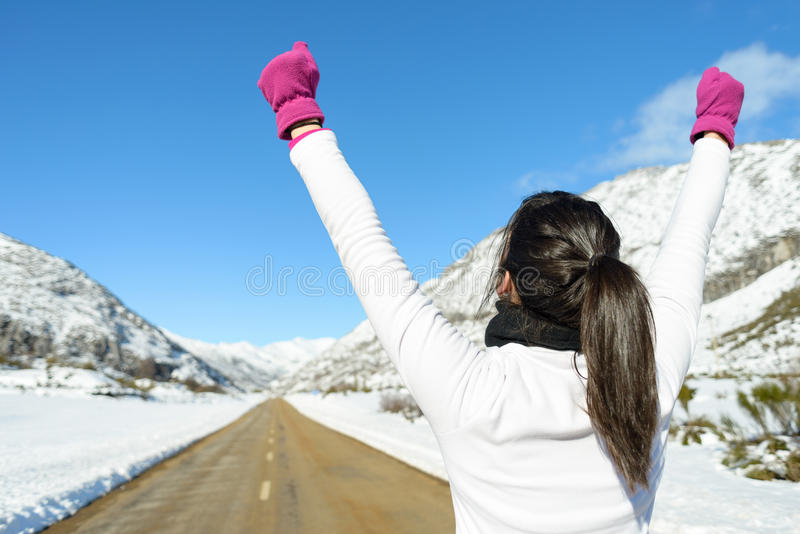 Begrepp för löpareframgångsport arkivfoto