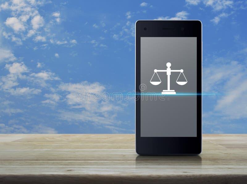 Begrepp för laglig service för affär online- arkivbild