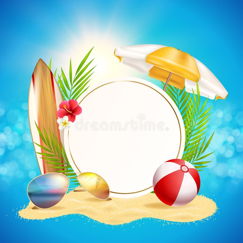 Begrepp för lopp för bakgrund för sommartid arkivfoton