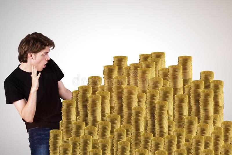 Begrepp för lotterivinnare royaltyfri illustrationer