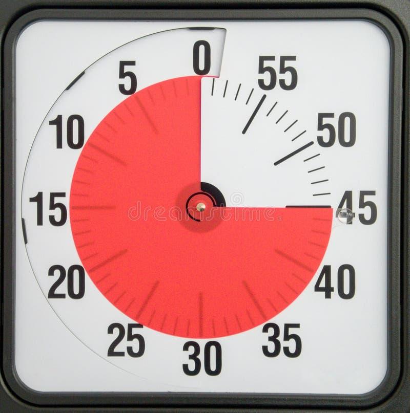 begrepp för möten för schema för stopptid för nedräkningtidmätareaffär royaltyfria foton