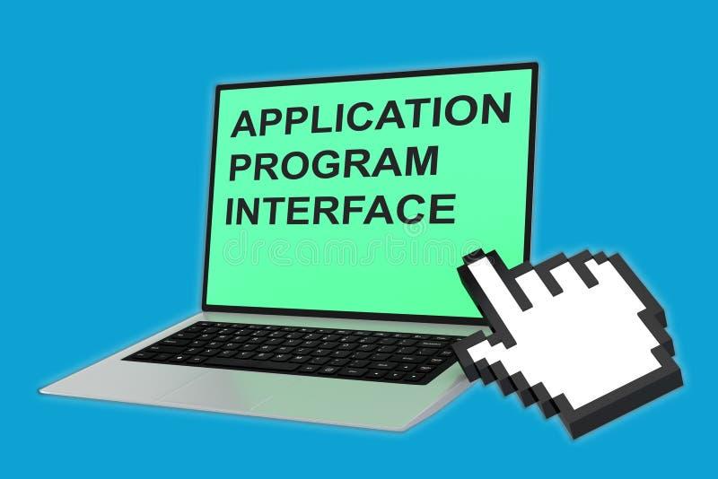 Begrepp för manöverenhet för applikationprogram stock illustrationer