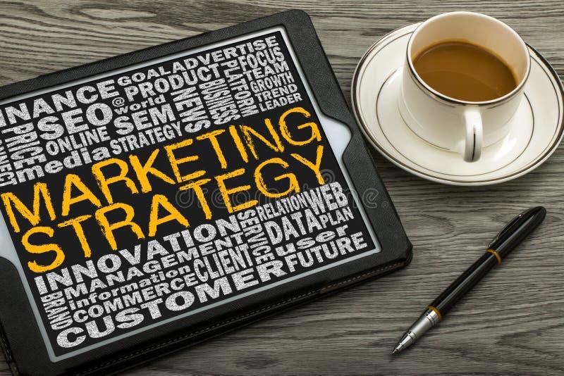 Begrepp för marknadsföringsstrategi fotografering för bildbyråer