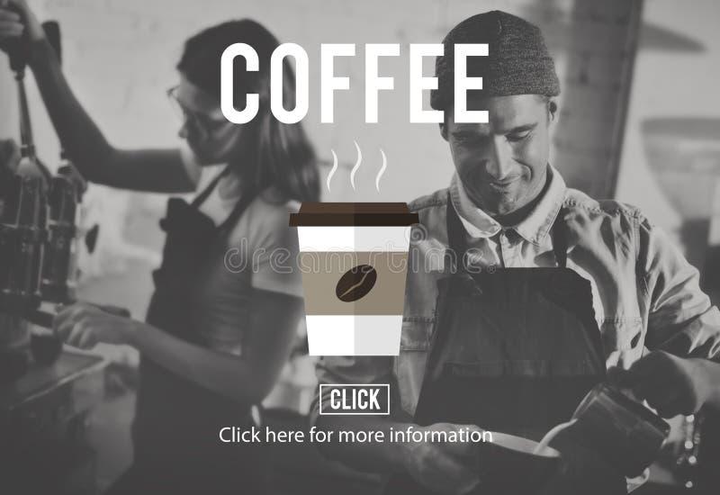 Begrepp för morgon för dryck för kaffekopp varmt arkivbild