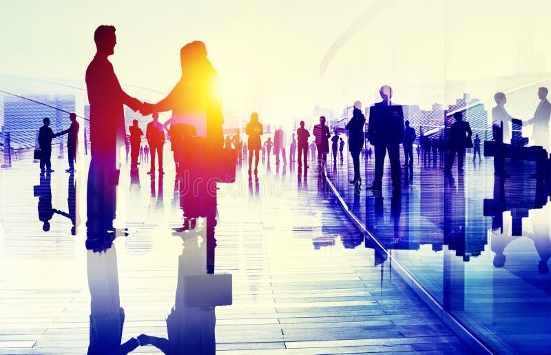 Begrepp för organisation för affär för strategi för marknadsföringsplanläggning arkivbild
