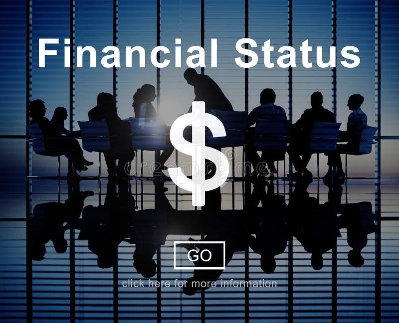 Begrepp för planläggning för skuld för budget- kreditering för finansiell status royaltyfri bild