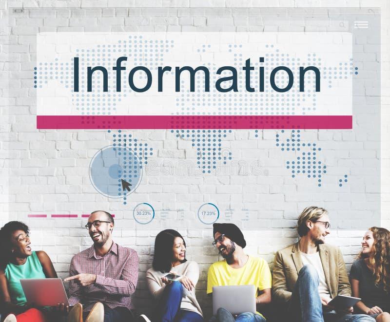 Begrepp för resultat för informationsdatabasresurser royaltyfria foton