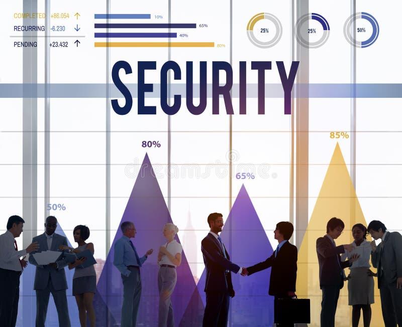 Begrepp för sekretess för skydd för säkerhetsavskildhetspolitik arkivbild
