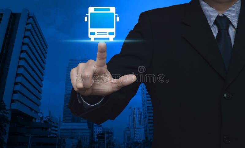 Begrepp för service för affärstrans.buss royaltyfri fotografi