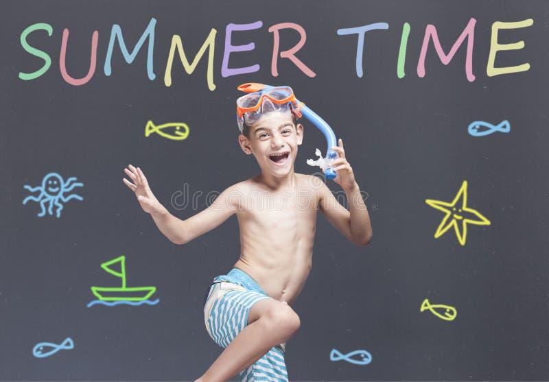 Begrepp för sommartid royaltyfria foton