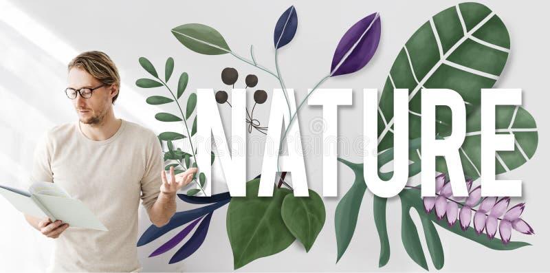 Begrepp för tillväxt för grön jord för naturmiljö naturligt royaltyfria foton
