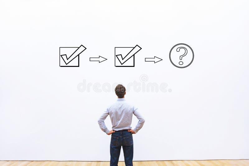 Begrepp för workflow för affärsprocess royaltyfri fotografi